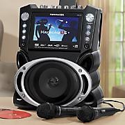 """Bluetooth Karaoke Machine with 7"""" Display by Karaoke USA"""