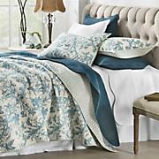 aviary oversized quilt and sham