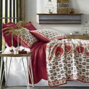 fallon oversized quilt and sham