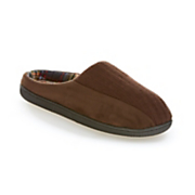 men s ribbed scuff slipper by muk luks