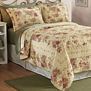 primrose oversized quilt and sham