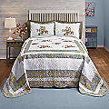 Loretta Embroidered Quilted Bedspread