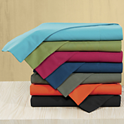 comfort creek solid microfiber sheet set