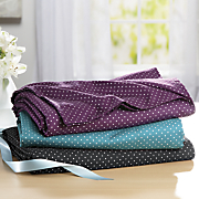 swiss dot microfiber sheet set