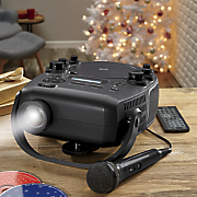 projector karaoke machine by ilive