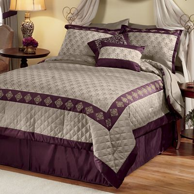Marcella Jacquard Bed Set and Window Treatments