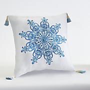 aquarius medallion accent pillow by jessica simpson
