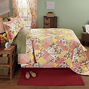 Garden Patch Bedspread, Sham and Window Treatments