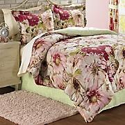 Rose Garden Comforter Set and Window Treatments