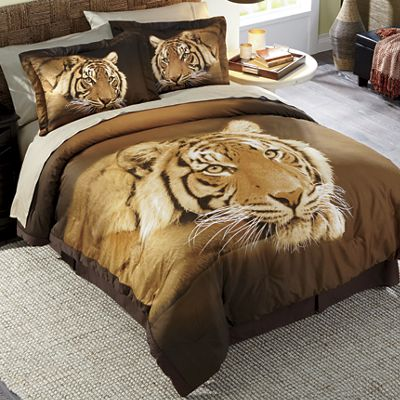 Wild Tiger Comforter Set