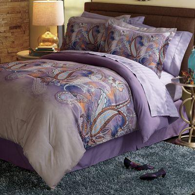 Mystic Paisley Comforter Set
