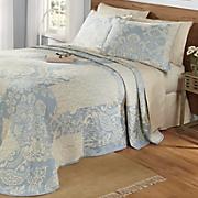 augusta jacquard bedspread