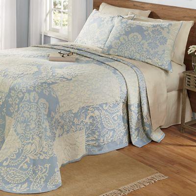 Augusta Jacquard Bedspread & Sham