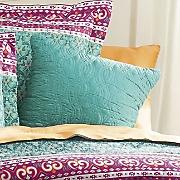 bijou solid accent pillow