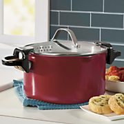 Red Copper 5-Qt. Better Pasta Pot – As Seen On TV
