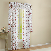 floral chancellor sheer window treatments