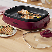 6 qt  3 in 1 grillet by aroma