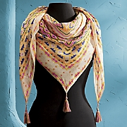 Southwestern Square Scarf