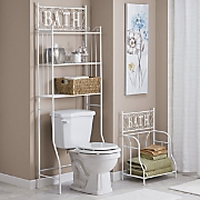 bath space saver and towel stacker