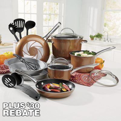 Luminesce Cookware Set by Farberware