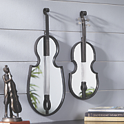 Music Instrument Wall Mirror