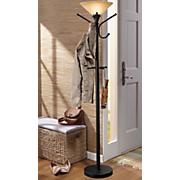 storage hook floor lamp