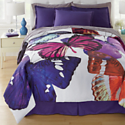 colorful butterfly comforter set