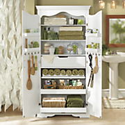 Multi-Room Storage Cabinet