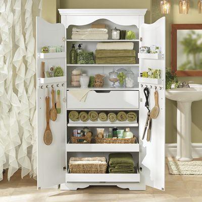 Multi-Room Storage Cabinet