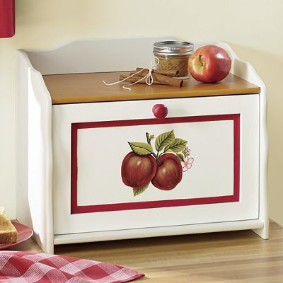 Double Apple Breadbox