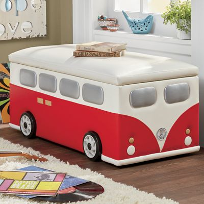 Hippie Van Storage Bench