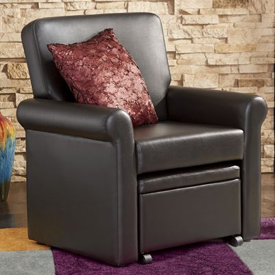 Conwell Chair With Nesting Ottoman From Seventh Avenue