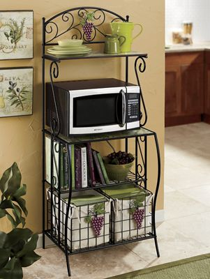 Grapes Microwave Stand