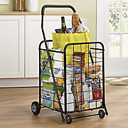 Colored Folding Shopping Cart