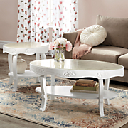 ivory rose coffee table