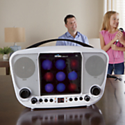 karaoke night cd g system with led light show