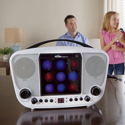Karaoke Night Cd+G System with LED Light Show