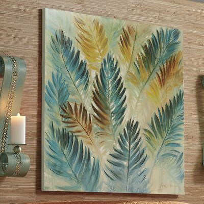Palm Leaves Painting