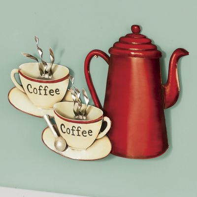 Coffee Cup Wall Décor