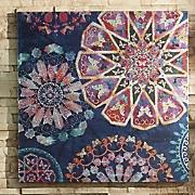 Embellished Mandala Print Canvas