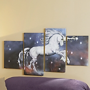 Unicorn Canvas with Leds
