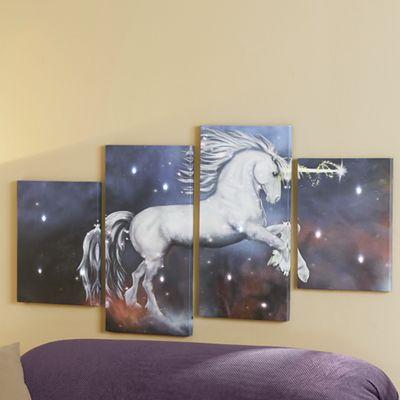 Unicorn Canvas with Leds