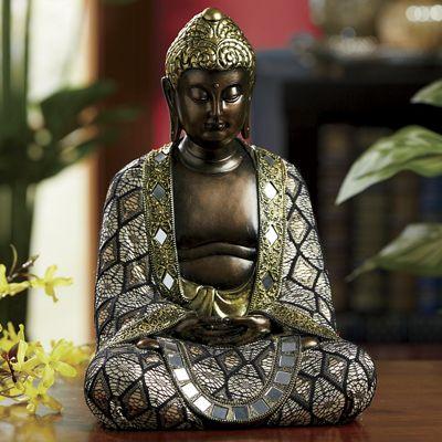 Ornate Buddha Statue
