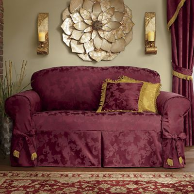Promenade Slipcover and Pillow Cover