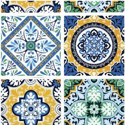 Moroccan Self-Stick Tile Set