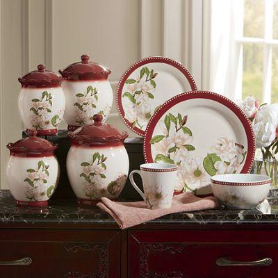 16-Piece Magnolia Dinnerware Set