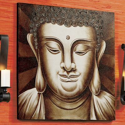 Buddha Wall Canvas