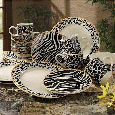 Zambia Safari Dinnerware