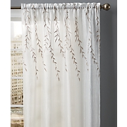 Embroidered Willow Layered Panel