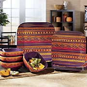 Melamine Tribal Dinnerware Set